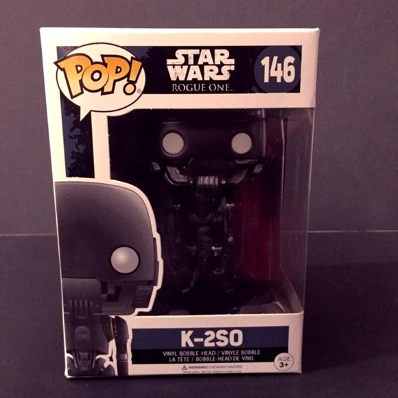 Star Wars Rogue One Vinyl Bobblehead Figure K-2S0 146 Funko Pop